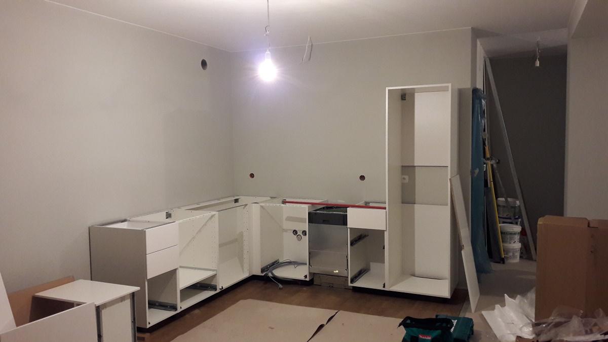 IKEA Metod Veddinge  Zmontujemy Meble -> Kuchnie Ikea Hittarp
